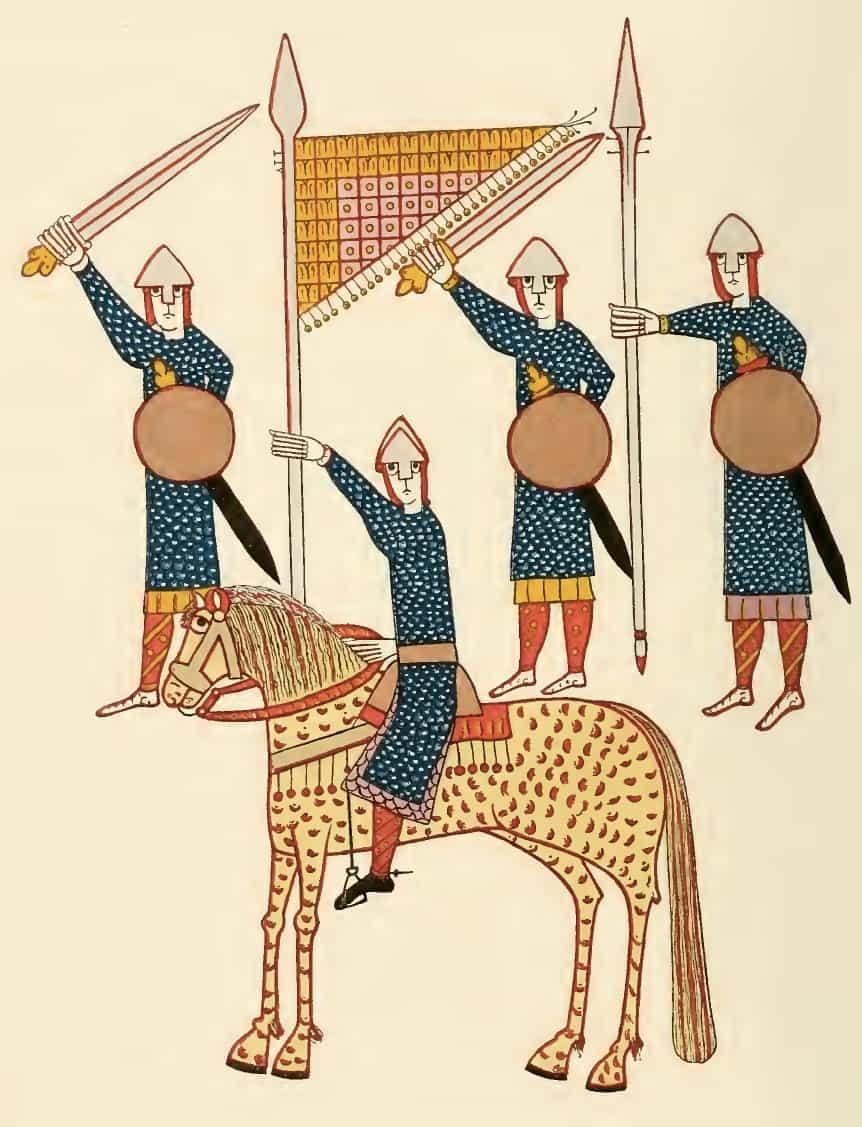 Spanish Warriors in the Eleventh Century