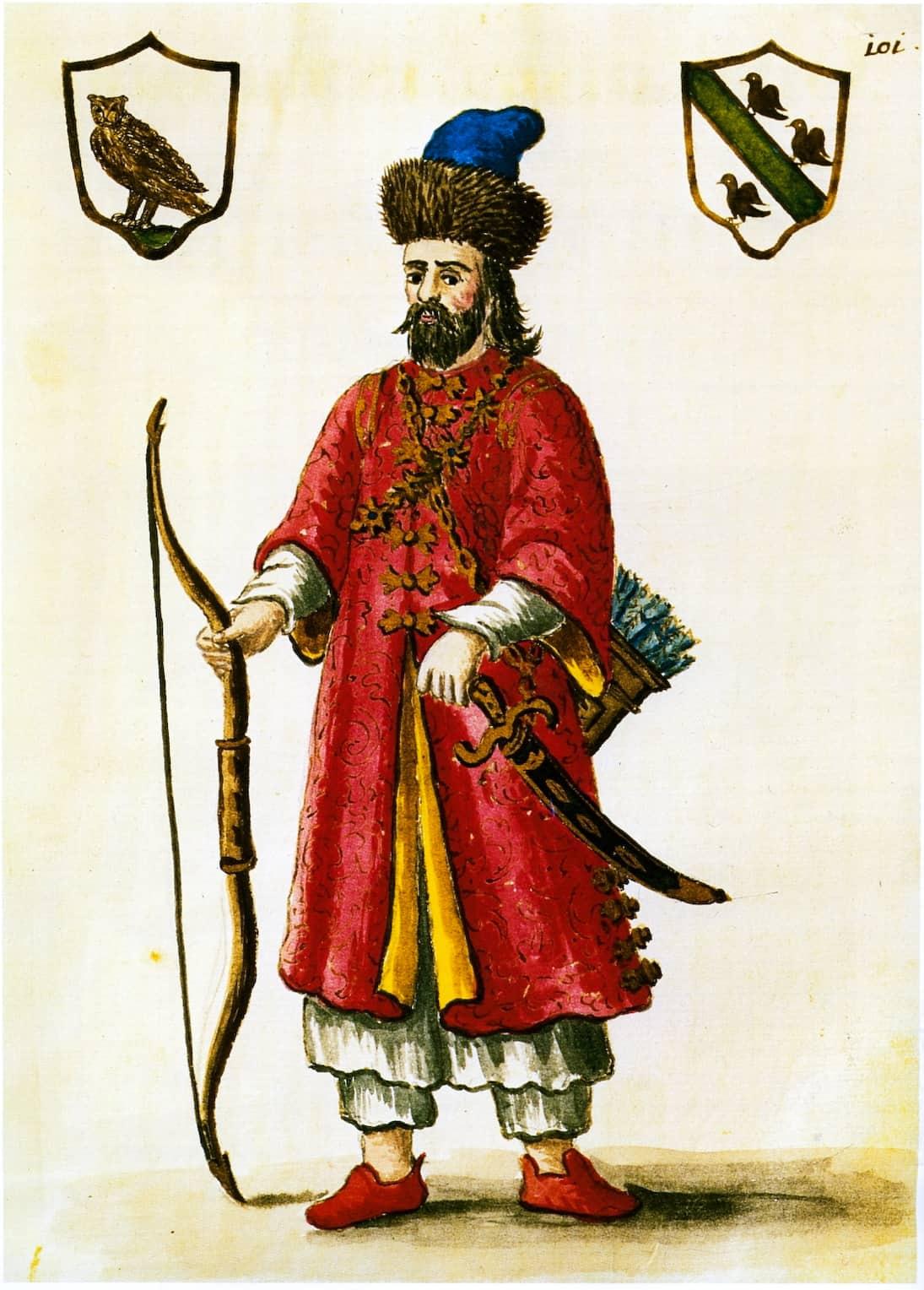 Marco Polo as Tartar