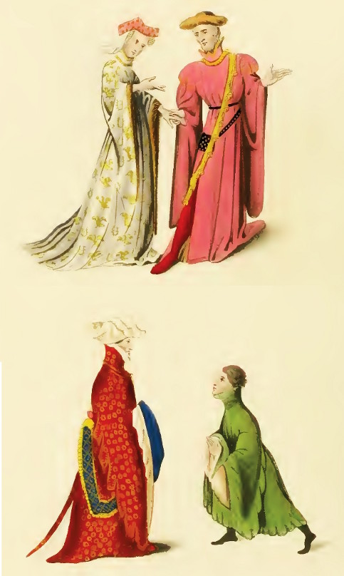 Courtiers (MS. Reg. 15 D. Ill, and MS. Harl. No. 1319)