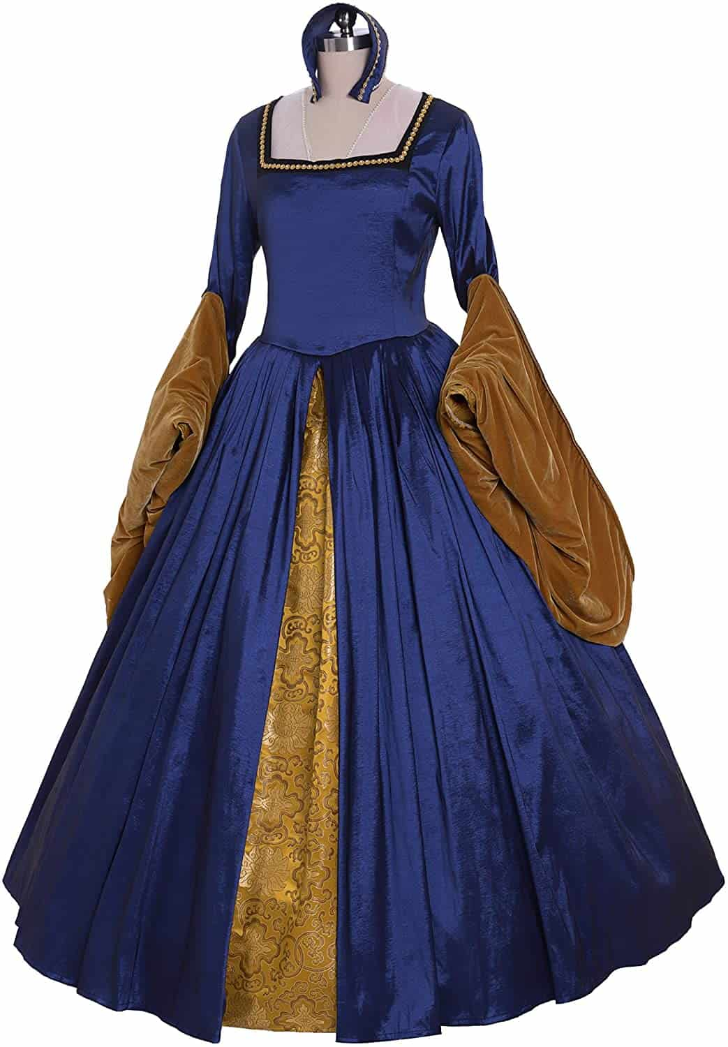 Anne Boleyn-style Dress